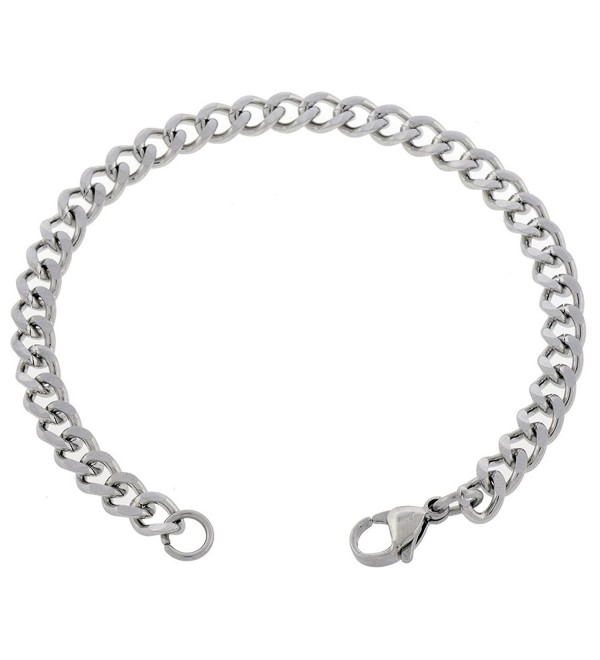 Women's Stainless Steel 5mm Anklet Choose From 7in - 14in - CF11XGEO7SZ