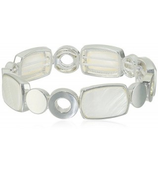 NINE WEST VINTAGE AMERICA and Stretch Bracelet - White - CT12O6S40M7