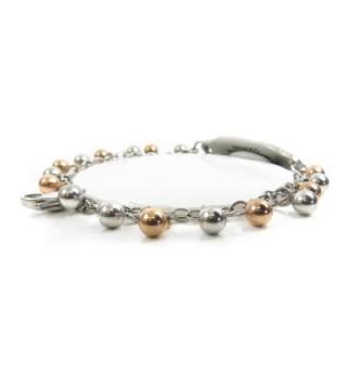 MyIDDr Pre Engraved Customized Alzheimers Bracelet in Women's ID Bracelets