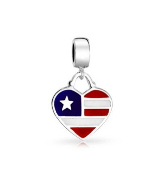 Bling Jewelry American Shaped Sterling