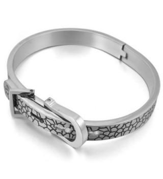 INBLUE Womens Stainless Bracelet Adjustable