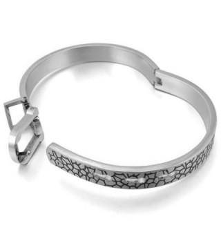 INBLUE Womens Stainless Bracelet Adjustable in Women's Cuff Bracelets