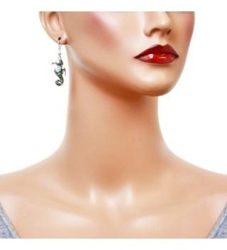 Liavys Seahorse Fashionable Earrings Filigree