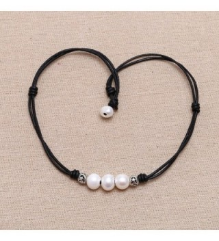 Double Strand Leather Necklace Jewelry in Women's Choker Necklaces