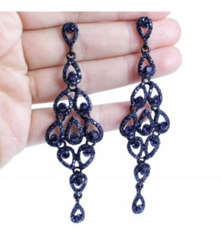 Janefashions Austrian Rhinestone Chandelier E2088 in Women's Drop & Dangle Earrings
