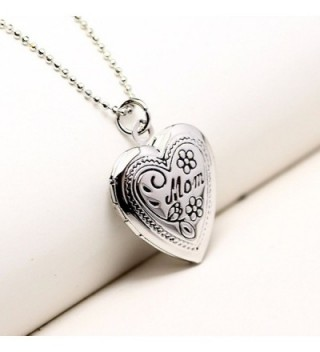 Mothers Mother Engraved Flower Necklace