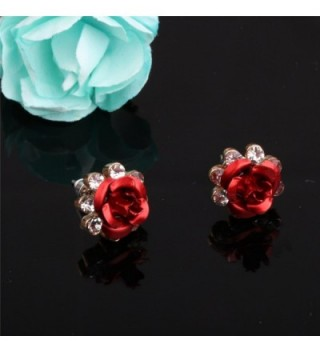 Carfeny Earrings Handcrafted Hypoallergenic Zirconia in Women's Stud Earrings