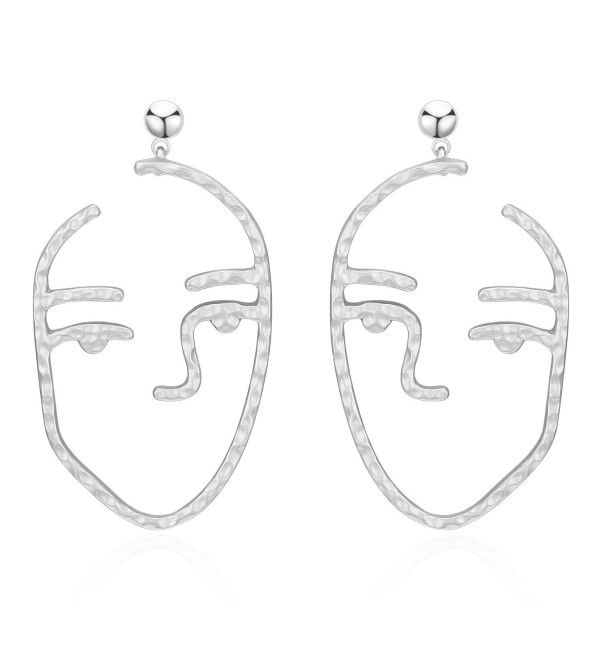 LILIE WHITE Fashion Earrings Hammered - EH00323B - CI186MUWEMK