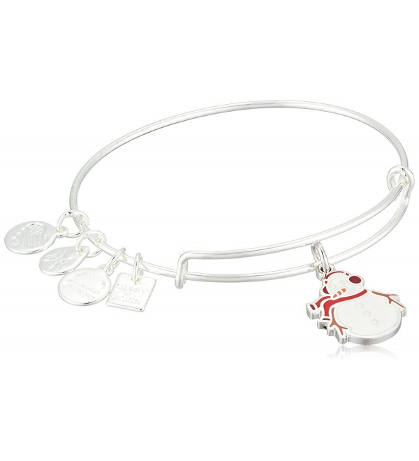 Alex and Ani Charity By Design- Snowman Bangle Bracelet - CN185OCUE0X