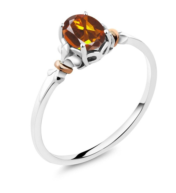 Sterling Silver Madeira Citrine Available - CD12O18I8T8