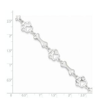 Sterling Silver Bracelet Length Spring