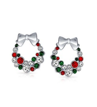 Bling Jewelry Simulated Christmas Earrings