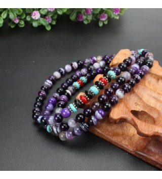 KISSPAT Gemstone Bracelet Variations Amethyst in Women's Wrap Bracelets