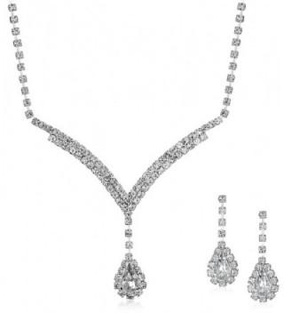Accessories Forever Necklace Rhinestones Extender - CW118SKZM81