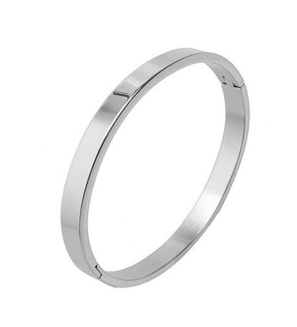 7th Element Polished Stainless Classical - Silver- 6mm 6.5inch - CB12E2E732J