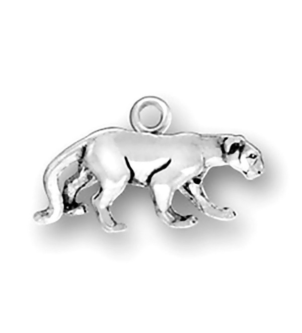 Corinna-Maria 925 Sterling Silver Cat Panther Charm - CX118POIMWD