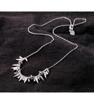 Dot Line renegade cluster necklace