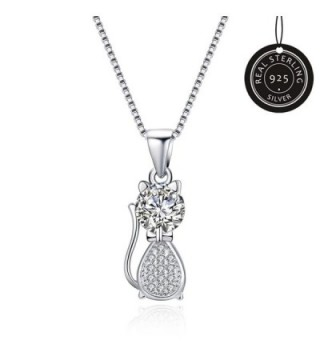MAZU Necklace Sterling Zirconia Shinning - CZ186AI937M