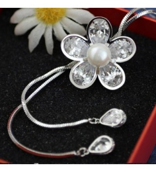 Merdia Created Crystal Simulated Necklace