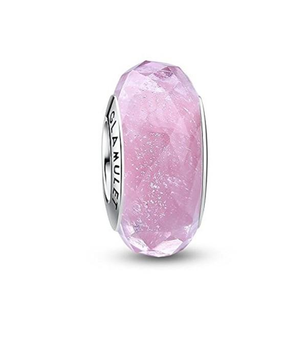 Glamulet Bracelets Sterling Pendant Jewelry - Pink - CR12NFH26E2