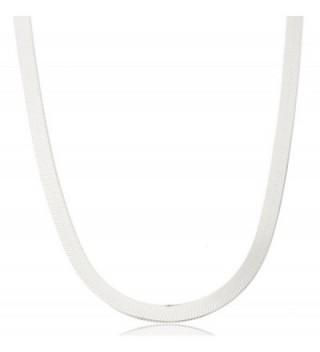 Silvertone 5mm Herringbone Chain (JL-LDGZ-W2V4) - C311KFJJJ7N