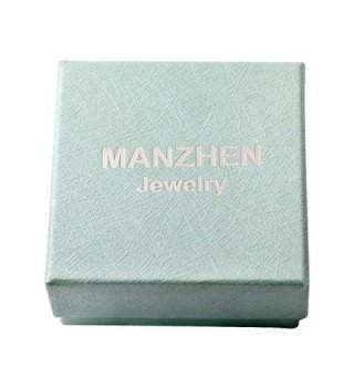MANZHEN Dainty Colors Bangle Bracelets in Women's Bangle Bracelets