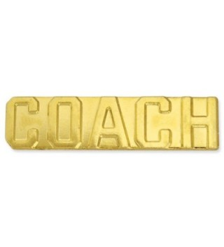 Coach Gold Chenille Sports Lapel Pin - CO11CFISF9F