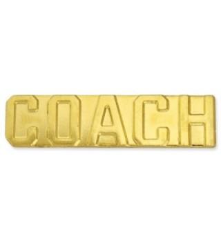 Coach Gold Chenille Sports Lapel Pin - CO11CFISF9F