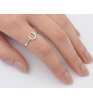 Horseshoe Unique Sterling Silver RNG14261 7