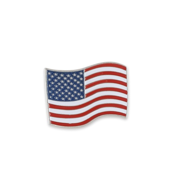 American Flag USA Emoji United States of America Enamel Lapel Pin - CE1876QXXR8