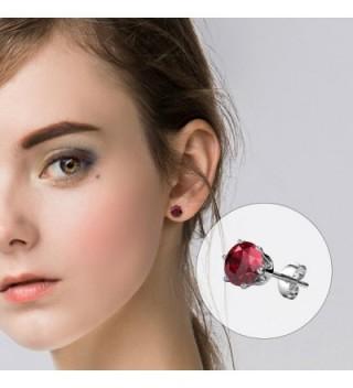 R timer Earrings Swarovski Elements Birthstone
