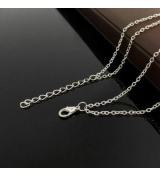 Wowanoo Layered Pendant Necklace Feather in Women's Pendants