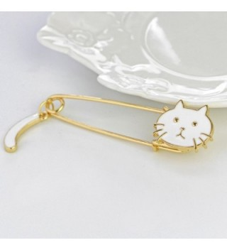 Sweater Party Brooch Women White in Women's Brooches & Pins