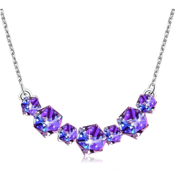 Necklace PLATO Swarovski Birthstorn Birthday - CK12N12ZN8I