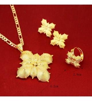 Gold Classic Pendant Earring Jewelry