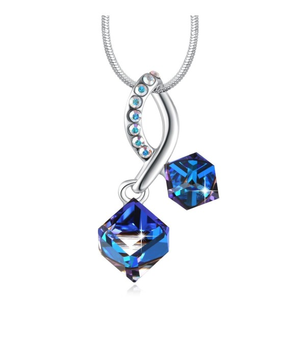 SUES SECRET Changing Necklace Swarovski - Ocean Blue - CN17YYH6TQX