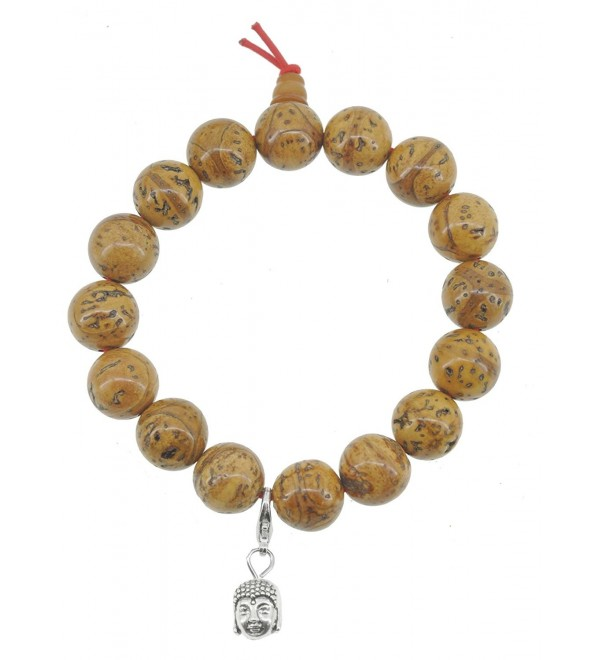 Tibetan Phoenix Eye Bodhi Seeds Bracelet- Bodhi Seed Mala- Prayer Beads - CF11L7RAY39