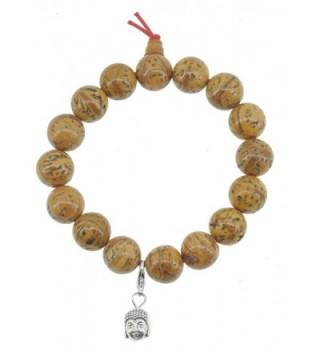 Tibetan Phoenix Eye Bodhi Seeds Bracelet- Bodhi Seed Mala- Prayer Beads - CF11L7RAY39