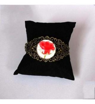 GiftJewelryShop Bronze Halloween pumpkin Bracelets in Women's Cuff Bracelets