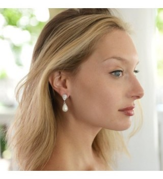 Mariell Earrings Pear Shaped Wedding Fashion