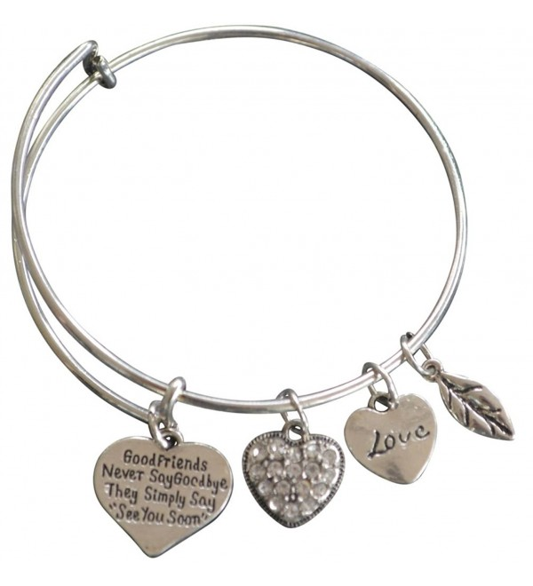 Good Friends Never Say Goodbye Bangle