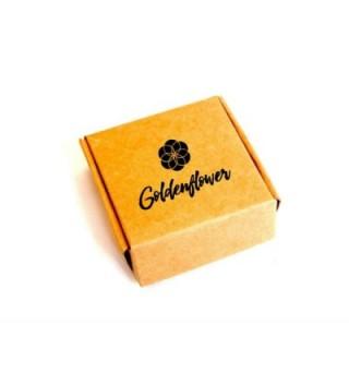Alice Wonderland Novelty Enamel Goldenflower in Women's Brooches & Pins