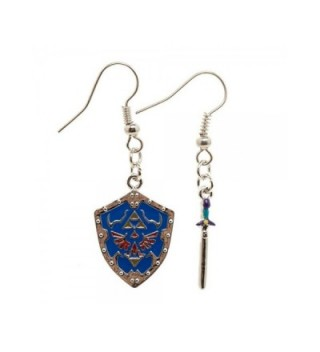 Nintendo Zelda Shield Earrings - CJ12O2W3G2C