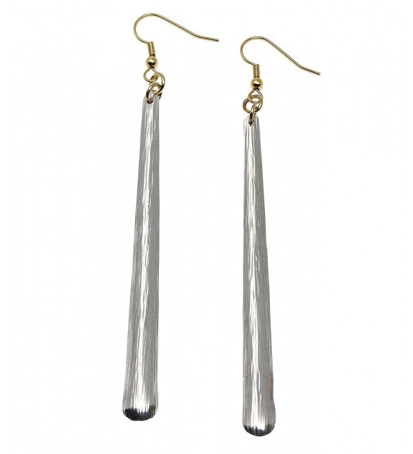 Stiletto Bark Aluminum Earrings By John S Brana Handmade Jewelry Hypoallergenic Aluminum - CG1192TN3JH