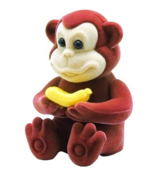 Monkey Pendant Necklace Figural Gift