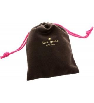 spade Cueva Gold Tone Glass Earrings in Women's Stud Earrings