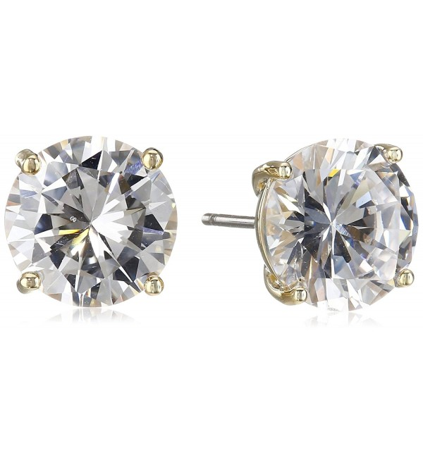 "Cole Haan ""CZ Basics"" Logo Gallery Set Stud Earrings - Gold/Crystal - CB127K47S2X"