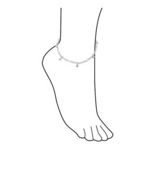 Bling Jewelry Sterling Dangling Bracelet in Women's Anklets