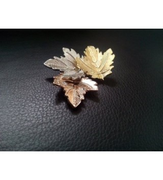 NOUMANDA Bijoux Autumn Jewelry Maples in Women's Brooches & Pins