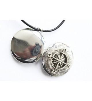 Compass Locket Necklace Vintage Antique in Women's Lockets